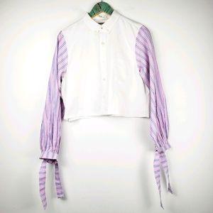 Aigle Depuis 1853 Long Sleeve Button-up Top Sz Lg